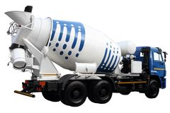 Cementmixer Stock Afbeelding