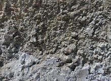Cemento concreto incrinato del fondo del primo piano di struttura Fotografie Stock Libere da Diritti