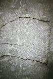 Cemento della crepa Fotografia Stock