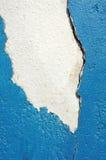 Cemento que forma escamas Fotografía de archivo