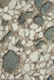 Cemento y mármol viejos de la pared Fotos de archivo libres de regalías