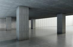 Cementowa architektura Fotografia Royalty Free