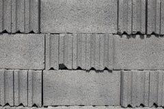 Cementowa blokowa tekstura Zdjęcie Royalty Free