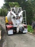 cementowa ciężarówka. Obrazy Stock
