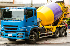 Cementowa ciężarówka fotografia stock