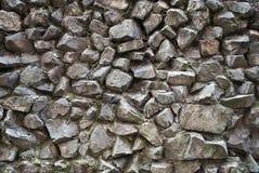 cementowa colour grey kłamstwa kamieni ściana Zdjęcia Stock