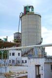 Cementowa fabryka Zdjęcie Royalty Free