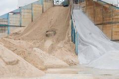 Cementowa fabryka melanżeru cementu wierza w Thailand Zdjęcie Royalty Free