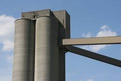 cementowa fabryki Zdjęcie Royalty Free