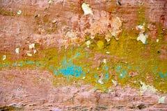cementowa kamienia powierzchni tekstura wietrzejąca być ubranym Obrazy Royalty Free