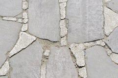 Cementowa Kamiennej ściany tekstura Obraz Stock