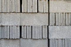 Cementowe cegły Fotografia Stock