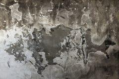 Cementowego ściennego tekstury brudnego szorstkiego grunge czarny i biały tło zdjęcia stock