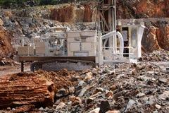 Cementowi pracownicy fabryczni zdjęcia stock