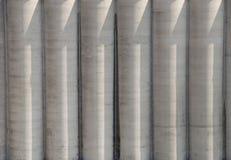 Cementowi silosy Zdjęcie Stock