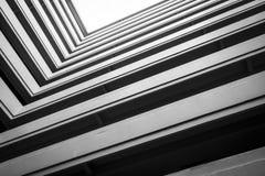 Cementowy Abstrakcjonistyczny architektoniczny projekt Zdjęcia Royalty Free