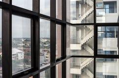 Cementowy Abstrakcjonistyczny architektoniczny projekt Obrazy Stock