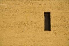 cementowy mały ścienny okno Fotografia Royalty Free