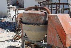 cementowy melanżer Fotografia Royalty Free