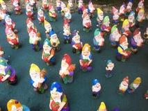 Cementowy ogród przyćmiewa exposé dla bubla zdjęcie royalty free