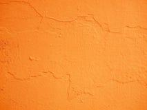 Cementowy pomarańczowy tło Zdjęcie Royalty Free