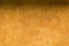 Cementowy pomarańczowy tło, cień na wierzchołku Obraz Royalty Free