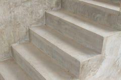 Cementowy schodek obrazy stock