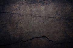 Cementowy tło z krakingową skórą Obrazy Stock