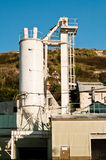 cementowy zakład produkcyjny obrazy royalty free
