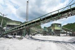 Cementsteengroeve Stock Foto