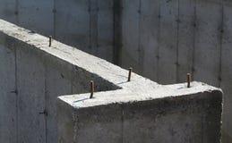 cementstruktur Arkivfoto