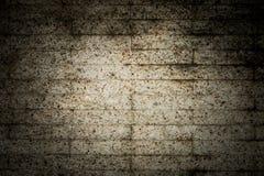 Cementtegelstenvägg Arkivfoton