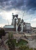 cementväxt Arkivfoton