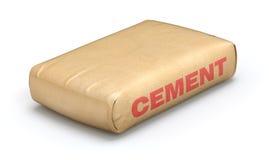 Cementzak Royalty-vrije Stock Afbeeldingen