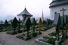 Cemertry, tHallstatt, Αυστρία Στοκ Φωτογραφία