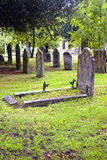 Cemetary. The old cementary in england Royalty Free Stock Photos
