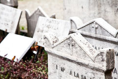 Cemetary architectures - Europe Royalty Free Stock Images