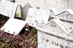 Cemetary architectures - Europe royalty free stock image