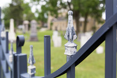 Cemetary gate Stock Photography