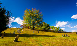 Cemetary in Harpers Ferry, West Virginia. Royalty Free Stock Photography