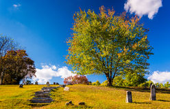 Cemetary in Harpers Ferry, West Virginia. Stock Photography