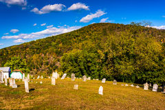 Cemetary in Harpers Ferry, West Virginia. Stock Image