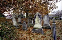 Cemetary at Sleepy Hollow Stock Photography