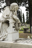 Cemetary statue Stock Photography