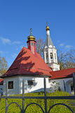 Cemeterial church of the Archangel Gabriel in Kaliningrad Stock Photo