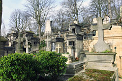 Cemeterie Pere Lachaise. Stock Images