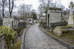 Cemeterie Pere Lachaise Royalty Free Stock Photo