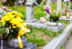 Cemetery architecture - Europe Royalty Free Stock Photography