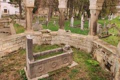 The cemetery in Bakhchisaray Palace (Crimea) Stock Photo
