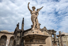 Cemetery in Barcelona Royalty Free Stock Photography